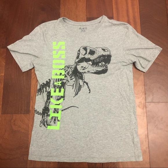 Children's place dinosaur T-shirt sz 16